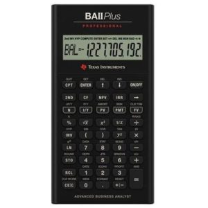Финансовый калькулятор BA II Plus Professional Pro «Texas Instruments»