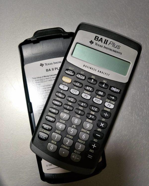 """Финансовый калькулятор CFA """"Texas Instruments"""" BA II Plus"""