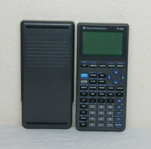 Инженерный калькулятор графический Texas Instruments микрокалькулятор TI 82