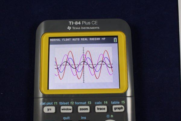 Графический калькулятор TI-84 Plus CE Texas Instruments