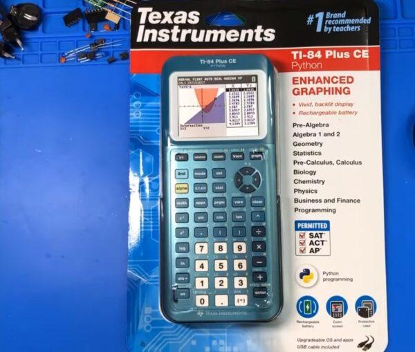 Графический калькулятор TI-84 Plus CE-T