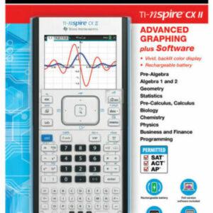 Графический калькулятор инженерный TI-Nspire CX II Texas Instruments